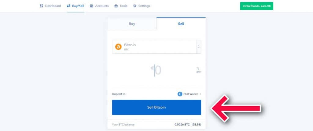 how to send money from coinbase to your bank