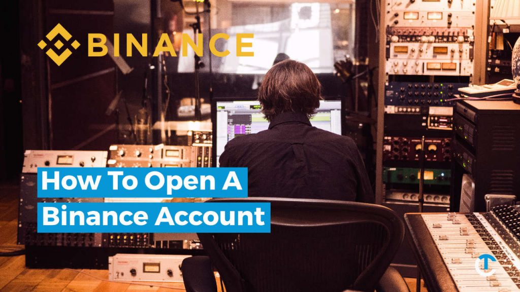 How to open a Binance account