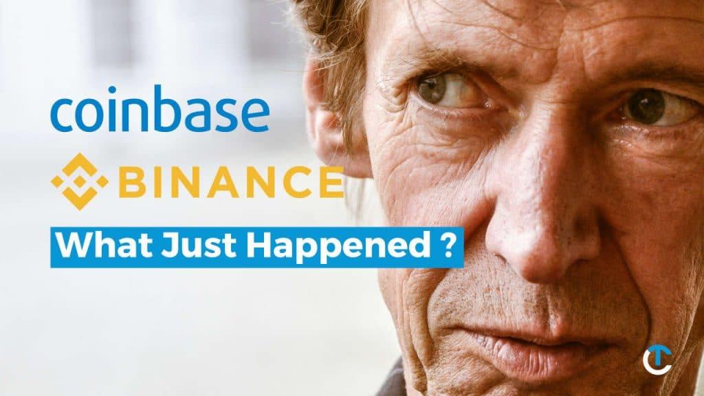 coinbase and binance