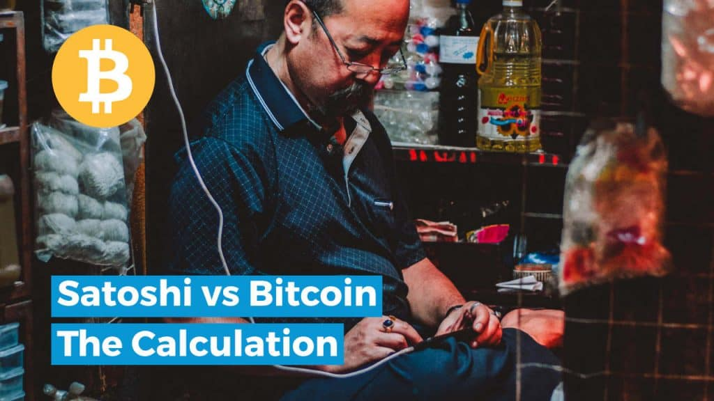 satoshi vs bitcoin calculation